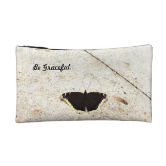 Graceful Butterfly Cosmetic Bag