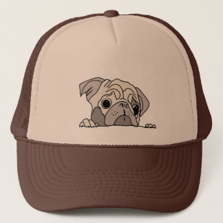 Graceful dog trucker hat