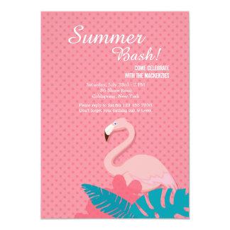 Graceful Flamingo Invitation