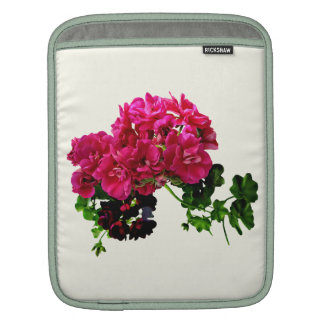 Graceful Geraniums Sleeve For iPads