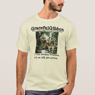 Graceful Gibbon Photo T-Shirt