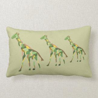 Graceful Giraffes Lumbar Pillow