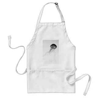 Graceful Jellyfish Adult Apron
