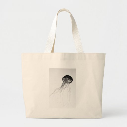 Graceful Jellyfish Canvas Bags