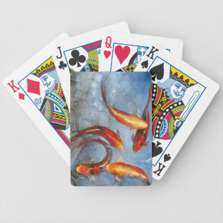 Graceful Koi I Bicycle Playing Cards
