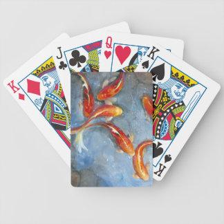 Graceful Koi II Bicycle Playing Cards