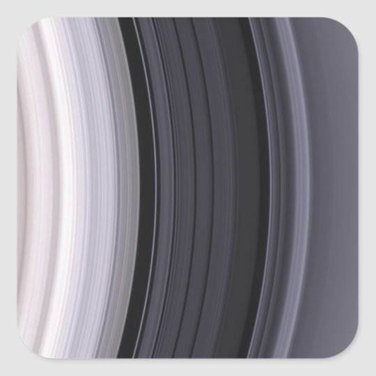 Graceful Lanes of Ice Square Sticker