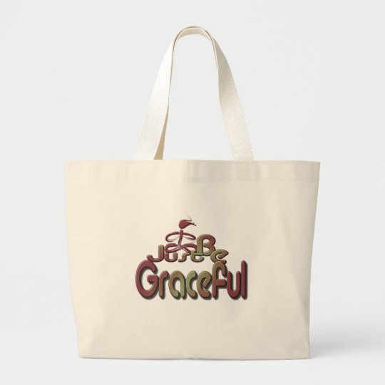 Graceful Large Tote Bag