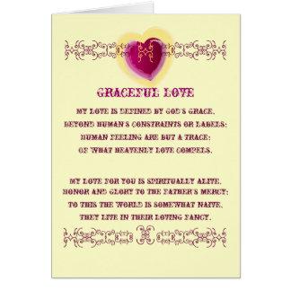 Graceful Love-Cutomize Card