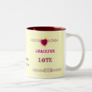 Graceful Love Mug-Customize - Cust... - Customized Two-Tone Coffee Mug