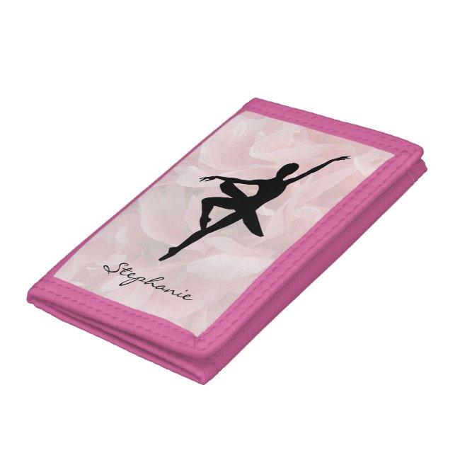 Graceful Pink Ballerina Wallet