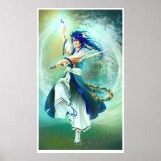 Graceful Samurai Poster