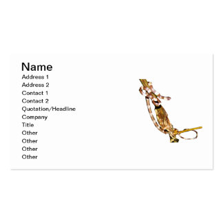 Graceful Snail Eater Business Card Templates