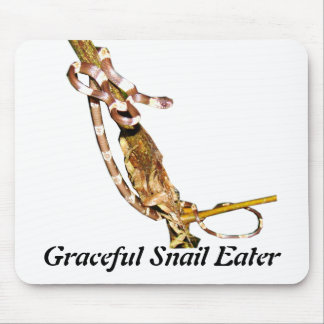 Graceful Snail Eater Mouse Pad
