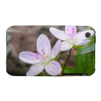 Graceful Spring Beauty Flowers iPhone 3 Case-Mate Case