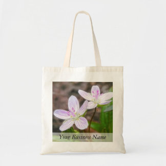 Graceful Spring Beauty Flowers Tote Bag