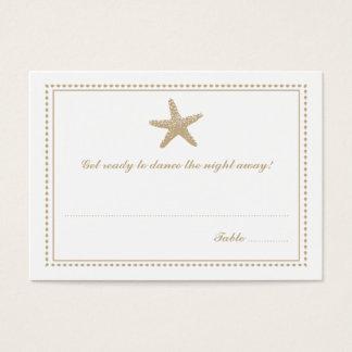Graceful Starfish | Seating Escort Card