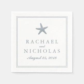 Graceful Starfish | Wedding Disposable Napkins