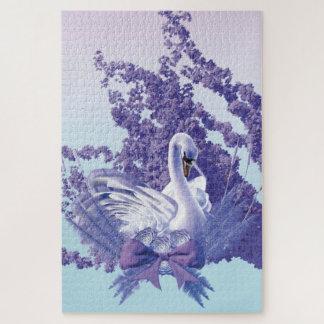 graceful swan jigsaw puzzle