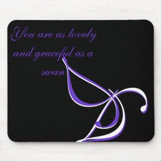 Graceful Swan Mousepad