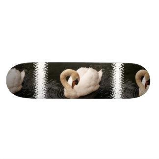 Graceful Swan  Skateboard