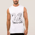 Graceful Swan Sleeveless Shirts