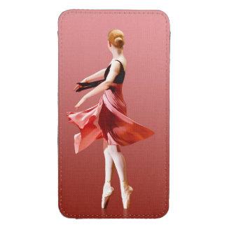 Graceful Swirling Ballerina On Pointe Galaxy S4 Pouch