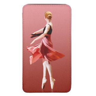 Graceful Swirling Ballerina On Pointe Galaxy S5 Pouch