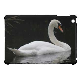 Graceful White Swan iPad Mini Case