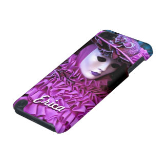 Graceful Woman With Purple Carnival Costume iPod Touch 5G Case