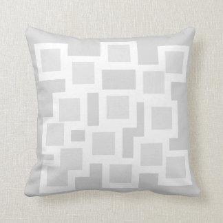Gracefully Grey Pillow/Cushion Vers 1 Squares Throw Pillow
