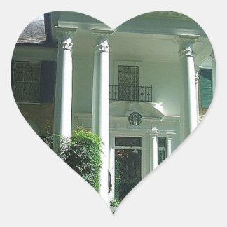Graceland Memphis Tennessee Heart Sticker