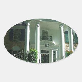 Graceland Memphis Tennessee Oval Sticker