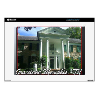 Graceland Memphis Tennessee Skins Para 38,1cm Portátil