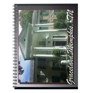 Graceland notebook Memphis Tennessee