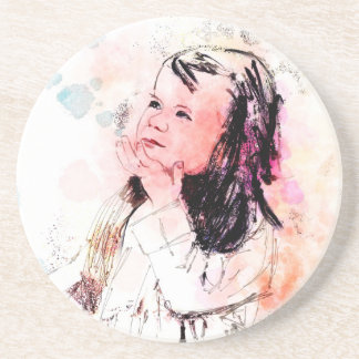 graces prize also a sweetness so sweet drink coaster