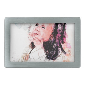 graces prize also a sweetness so sweet rectangular belt buckle