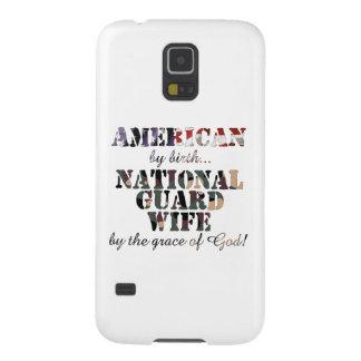 Gracia de Dios de la esposa del Guardia Nacional Funda Galaxy S5