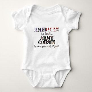 Gracia de Dios del primo del ejército Body Para Bebé
