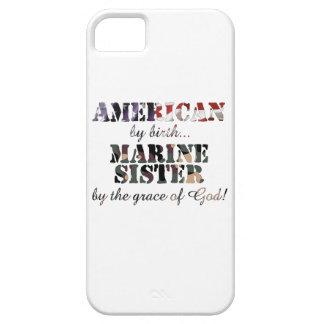Gracia de Dios marina de la hermana iPhone 5 Funda