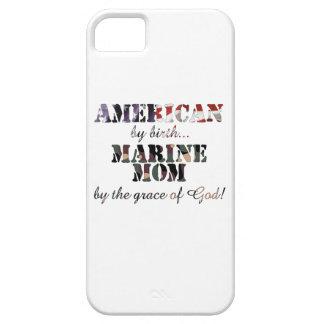 Gracia de Dios marina de la mamá iPhone 5 Fundas