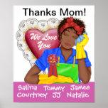 ¡Gracias # 1 mamá! - SRF Poster