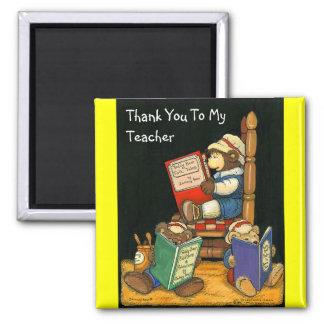 Gracias a mi imán del profesor