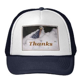 Gracias a nuestras tropas este gorra de las vacaci