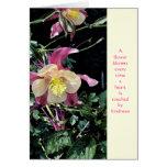 Gracias - amabilidad de las floraciones felicitacion