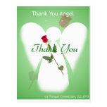 Gracias ángel tarjeta postal