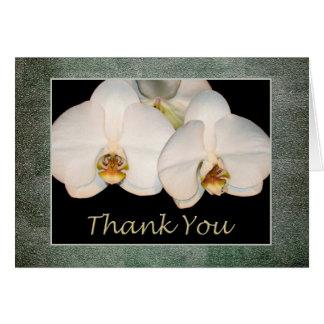 Gracias aprecio del cliente y del empleado tarjeta de felicitación