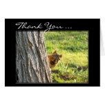 Gracias atesorar la tarjeta de felicitación