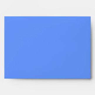 Gracias. Azul y blanco