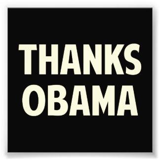 Gracias Barack Obama